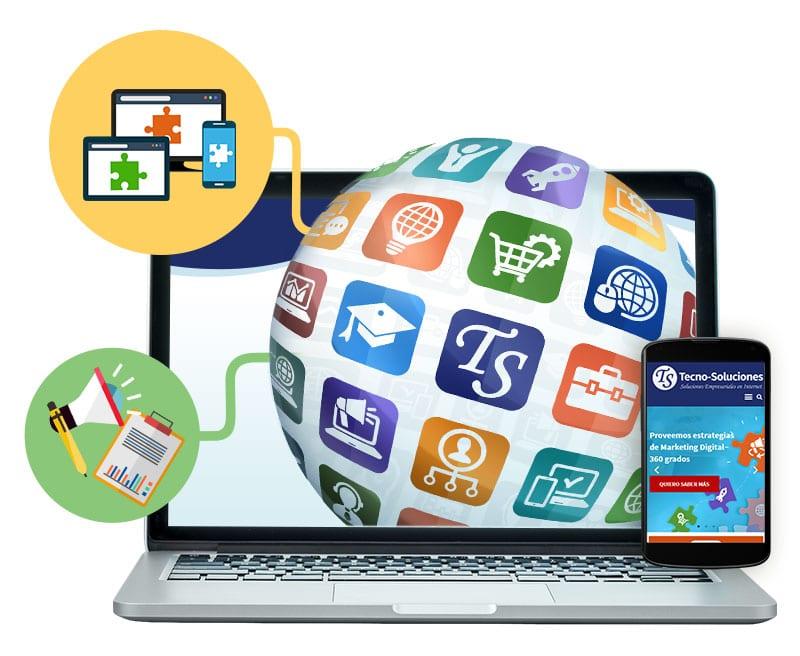 Proveemos soluciones de negocios en línea
