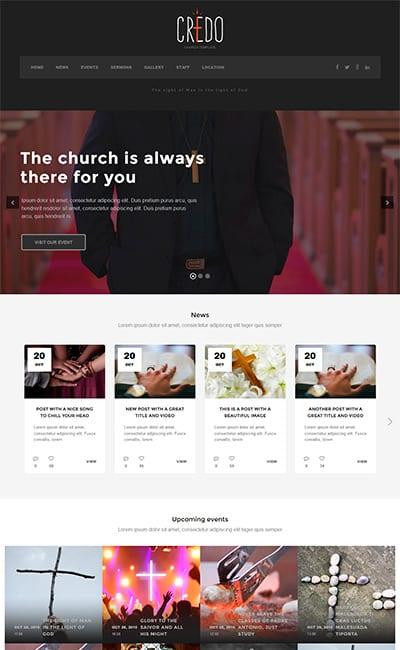 Plantillas online Religiosas