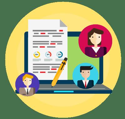 Software de recursos humanos-teletrabajo