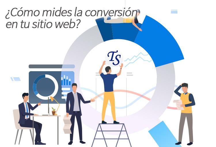 ¿Cómo mides la conversión en tu sitio web?