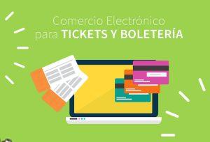 comercio electrónico de tickets