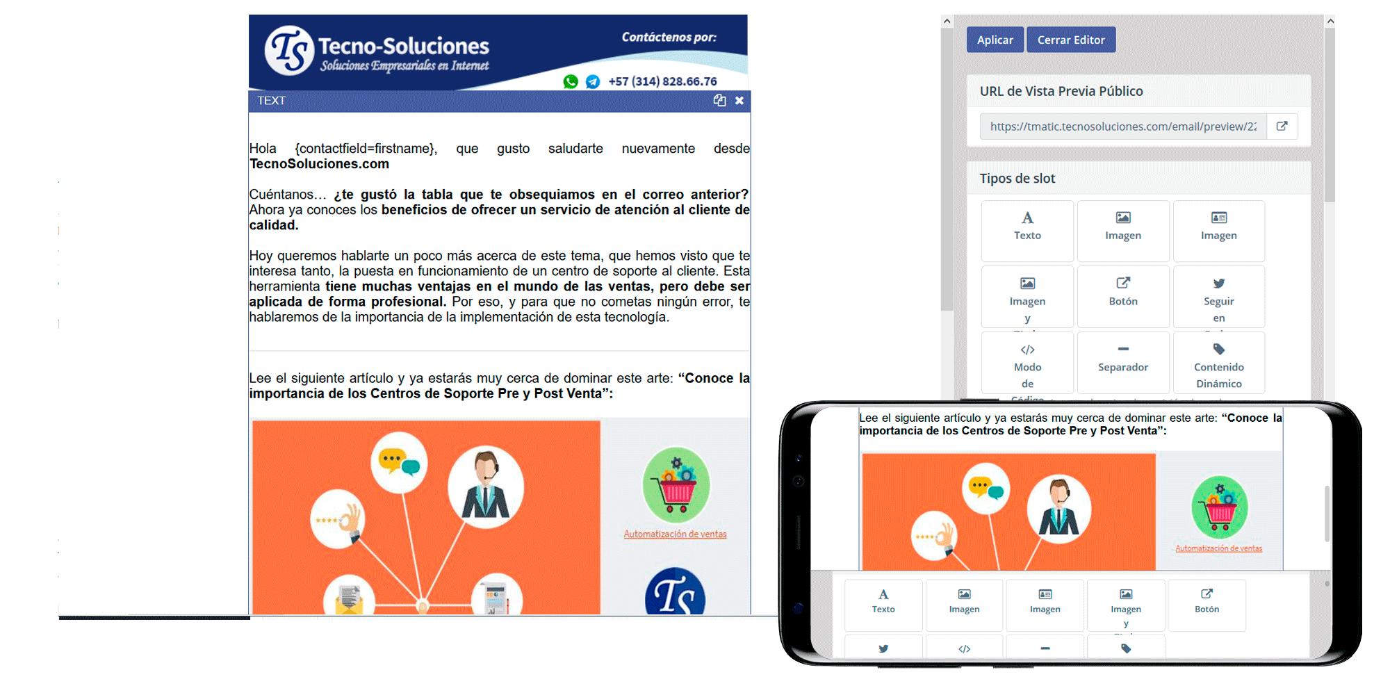 TecnoMatic - Campañas de Email Marketing automatizadas por comportamiento (marketing automation)