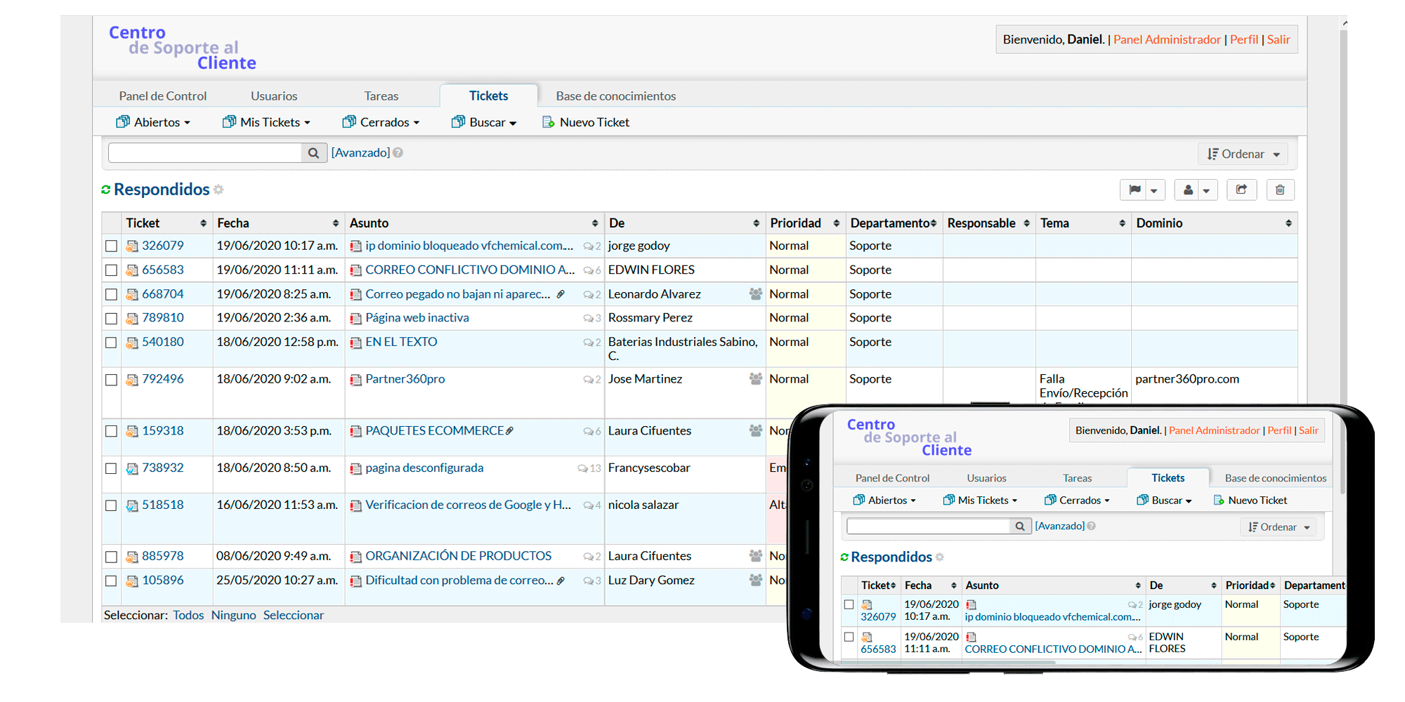 TecnoSupport - Plataforma en línea para el centro de soporte al cliente de tu negocio (Software de Servicio al Cliente) plataforma en línea para el centro de soporte al cliente de tu negocio (Software de Servicio al Cliente)