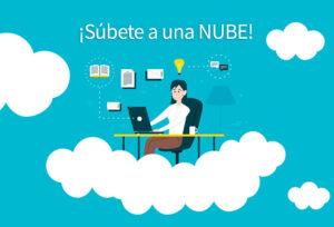nube con tus archivos