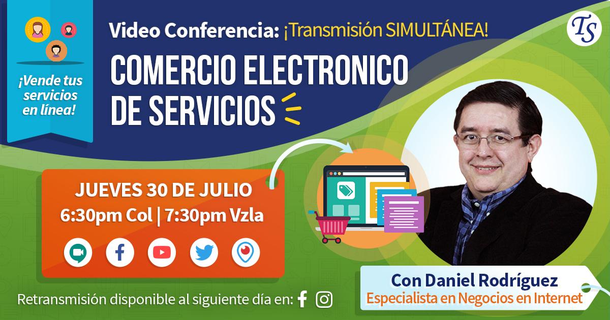 TecnoLive 03: Comercio Electrónico en Empresas de Servicios