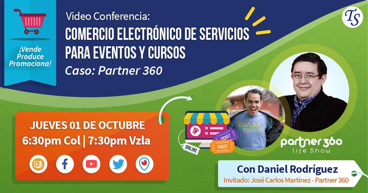 TecnoLive 12: Comercio Electrónico de Reservaciones para eventos y cursos