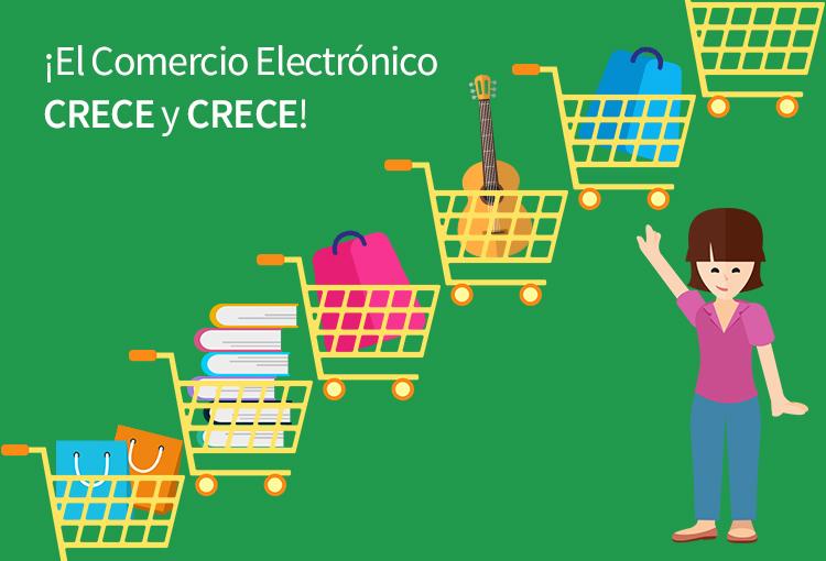 El comercio electrónico crece y se hace vital para los negocios