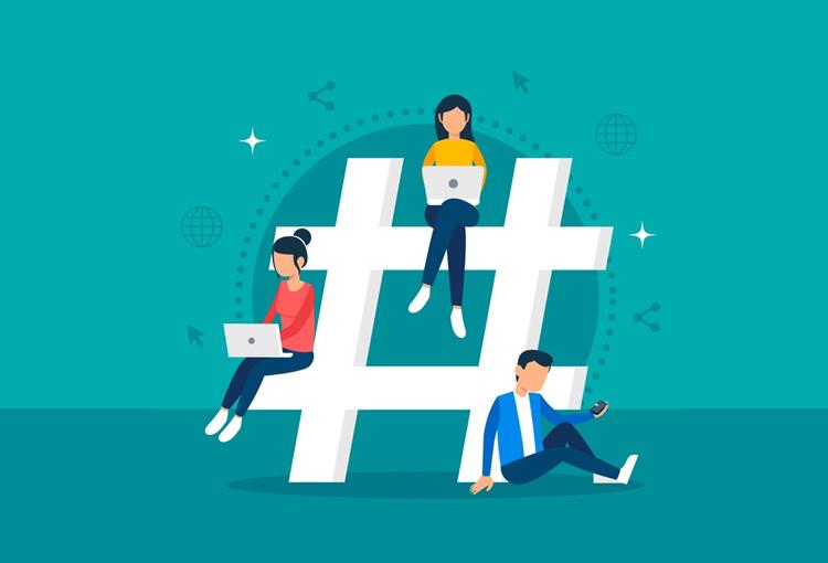 Utiliza los hashtags con el criterio de un profesional.