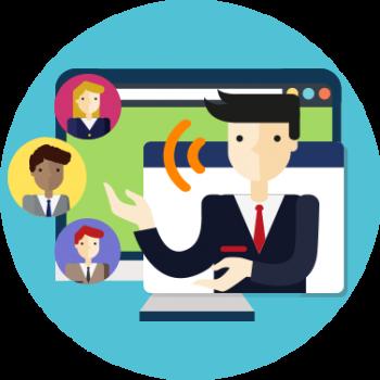 TecnoMeetings para Reuniones Virtuales por Video Conferencias en la Nube para Intranets