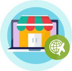 comercio electrónico de viajes y turismo